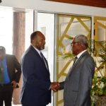Le premier Ministre du Vanuatu en Nouvelle-Calédonie