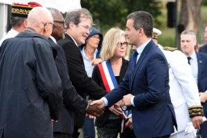 Gérald DARMANIN, Ministre de l'Action et des Comptes publics, en Nouvelle-Calédonie