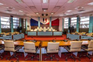 Les groupes politiques constitués à la veille de l'installation de la nouvelle mandature